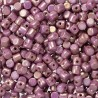 Minos® par Puca® 2,5x3 mm Opaque Mix Violet / Gold Ceramic Look  - 5 gr