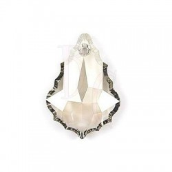 Flat Baroque Pendant 6091 28 MM Silver Shade