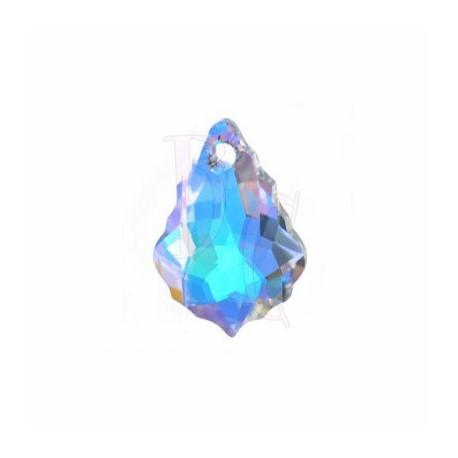 Pendant Baroque 6090 22x15 MM Crystal Ab