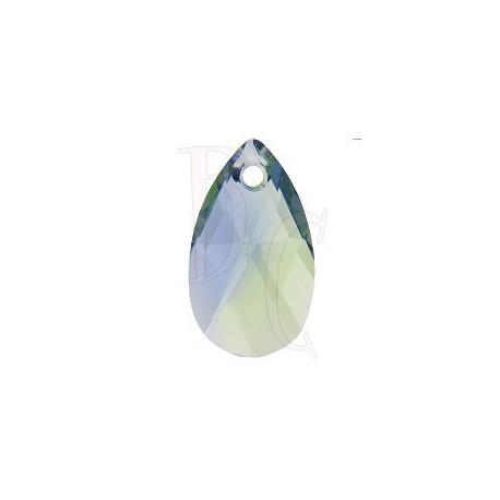 Pear Shaped Pendant 6106 16 mm Provace Lavander - Chrysolite Blend