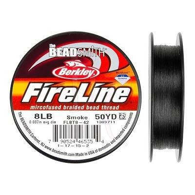 Filo Fireline Smoky 8L (0.15 MM) 50YD
