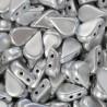 Amos® par Puca® 5x10 mm Silver Aluminium Mat 10 gr