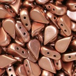 Amos® par Puca® 5x8 mm Copper Gold Mat 10 gr