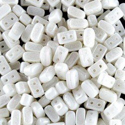 Ios® par Puca® 5,5x2,5 mm Opaque White Ceramic Look 10 gr