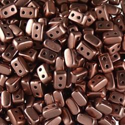 Ios® par Puca® 5,5x2,5 mm Copper Gold Mat 10 gr