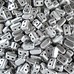 Ios® par Puca® 5,5x2,5 mm Silver Alluminium Mat 10 gr