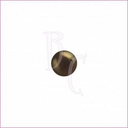 Perla swarovski 5810 4MM Deep Bronwn