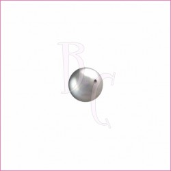 Perla swarovski 5810 4MM Light Grey