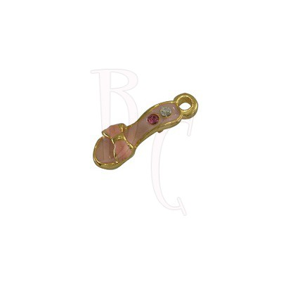 Charms scarpetta 19x6 mm