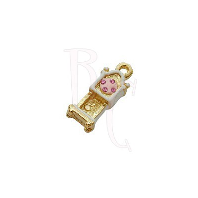 Charms orologio a dondolo 18x13 mm