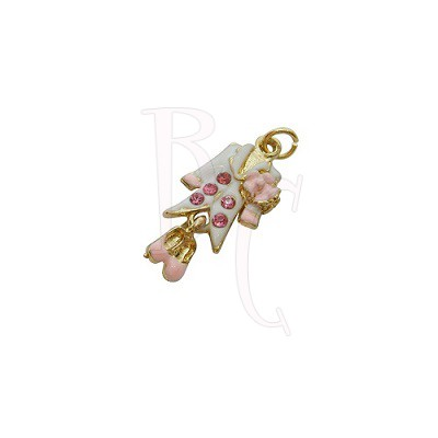 Charms vestitino 29x12.5 mm