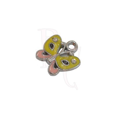 Charms farfalla 13.8x13.5 mm