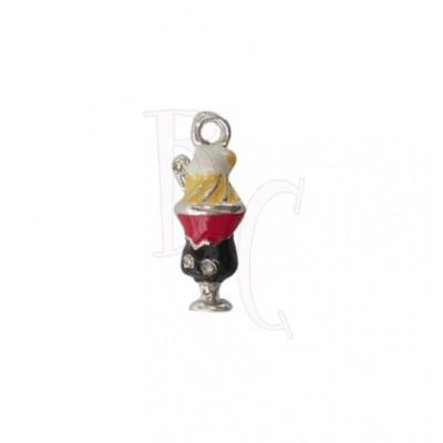 Charms coppetta gelato 22x7 mm
