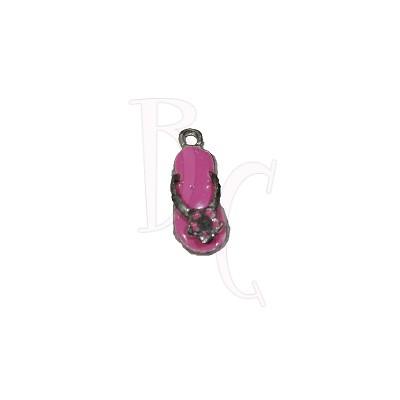Charms sandalo rosa 24x6 mm