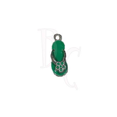 Charms sandalo verde 24x6 mm