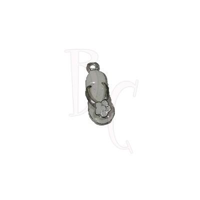 Charms sandalo bianco 24x6 mm
