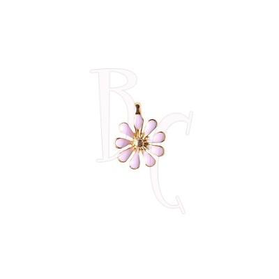 Charms fiorellino cipria 12x15 mm