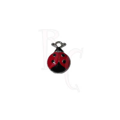 Charms coccinella 18.5x12.5 mm