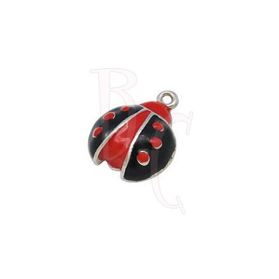 Charms coccinella 18x14 mm