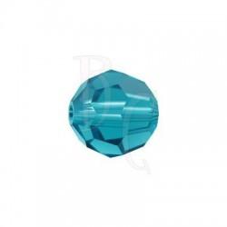 Round swarovski 5000 10 mm Blu Zircon