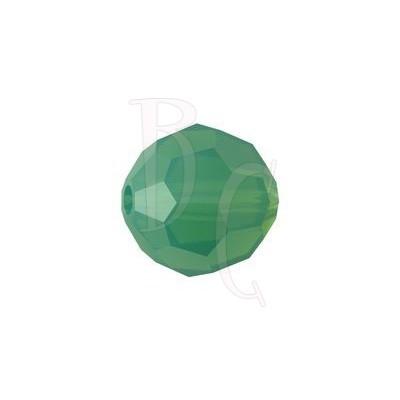 Round swarovski 5000 10 mm Palace Green Opal