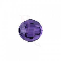 Round swarovski 5000 10 mm Purple Velvet