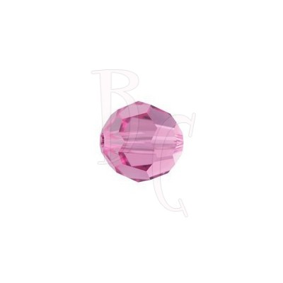 Round swarovski 5000 8 mm Rose