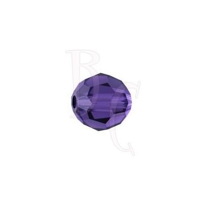 Round swarovski 5000 8 mm Purple Velvet