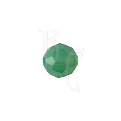 Round swarovski 5000 8 mm Palace Green Opal