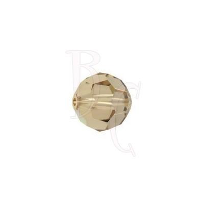 Round swarovski 5000 8 mm Light Colorado Topaz