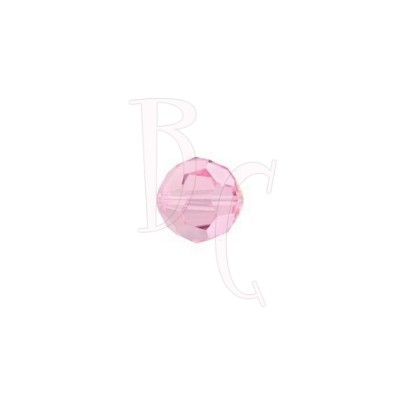 Round swarovski 5000 6 mm Light Rose