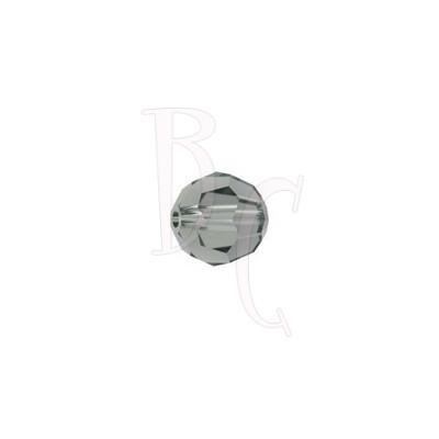 Round swarovski 5000 6 mm Black Diamond