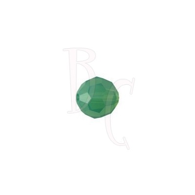 Round swarovski 5000 6 mm Palace Green Opal