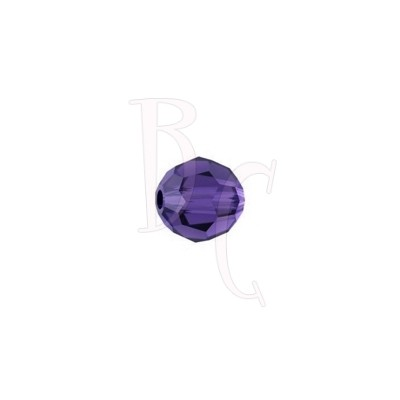 Round swarovski 5000 6 mm Purple Velvet