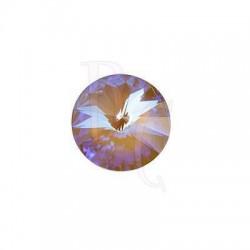 Rivoli Round Stone 1122 14 MM Crystal Cappuccino DeLite