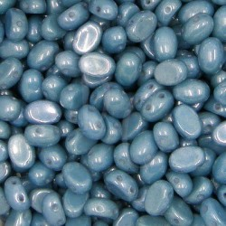 Samos® par Puca® 5x7 mm Opaque Blue Ceramic Look 10 gr