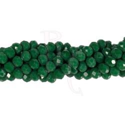 Cipollotti 6x8 mm Opaque Emerald