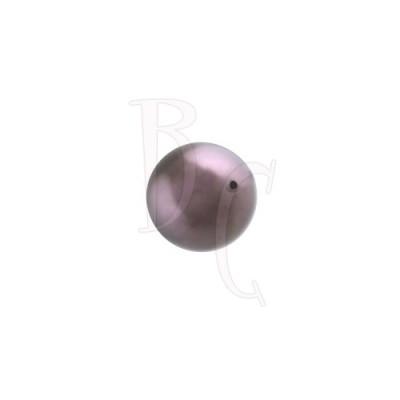 Perla swarovski 5810 8 MM Crystal Pearl Burgundy