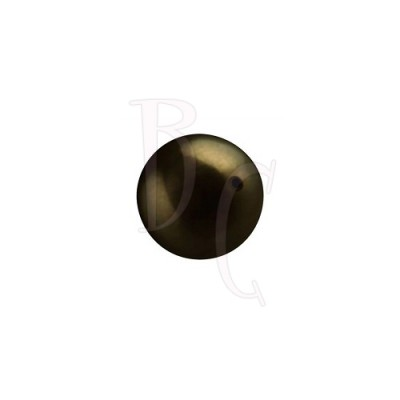 Perla swarovski 5810 10 MM Crystal Pearl Deep Brown
