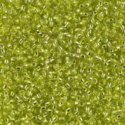 Rocaille 11/0 0014 Silver Lined Chartreuse 10 gr