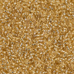 Rocaille 15/0 0003 Silver Lined Gold 10 gr