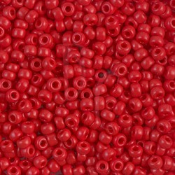 Rocaille 8/0 0408 Opaque Dark Red 10 gr