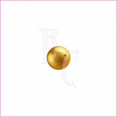 Perla swarovski 5810 6 MM Bright Gold