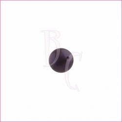 Perla swarovski 5810 6MM Dark Purple