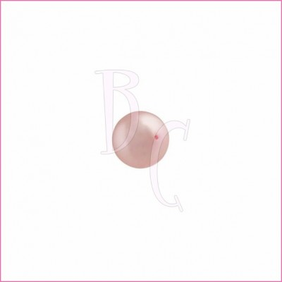 Perla swarovski 5810 6MM Powder Rose