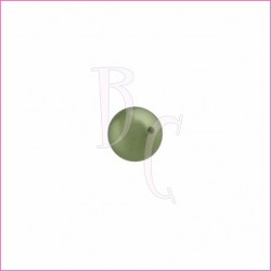 Perla swarovski 5810 6MM Powder Green
