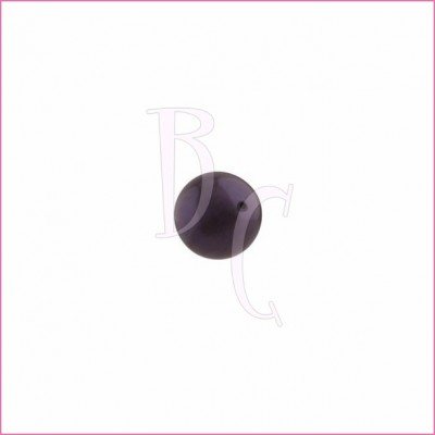 Perla swarovski 5810 8 MM Dark Purple