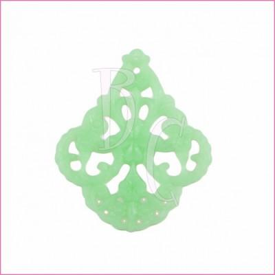 Filigrana 48x58 color verde menta