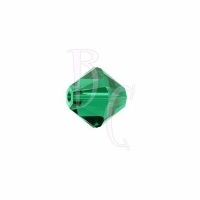 Bicono swarovski 5328 4MM Emerald