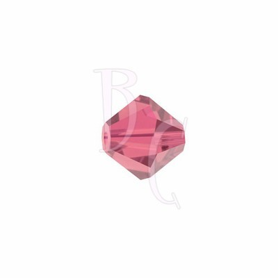 Bicono swarovski 5328 4MM Indian Pink